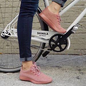 Allbirds Pink/Tui Red Wool Runners Sneakers